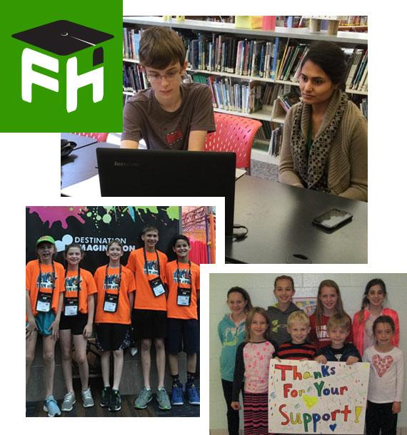 kids involved in FHFE programs