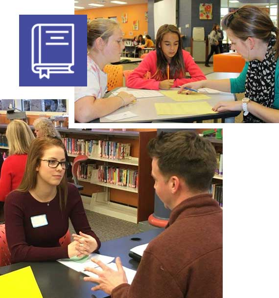 Learning career skills and tutoring