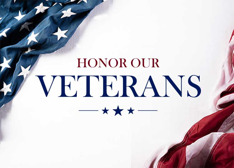 Honor Our Veterans Wall